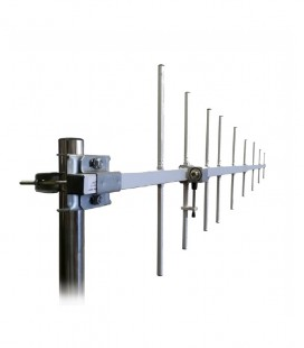 Direct.Anten 9 elm.400-415mHz, 12dB Con.'N' 335mm