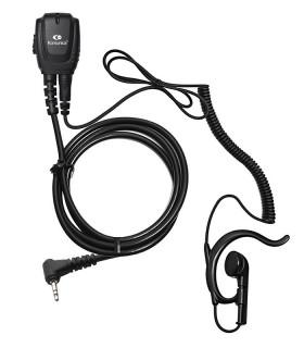 Micro-Auricular cable rizado con orejera ergonómica T-62 / T-82