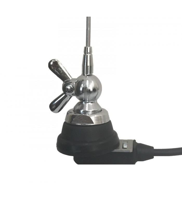 MA-1301-Antenna VHF 144-174 MHz C/RG 58, 5mt-base