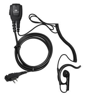 Micro-earphone coil cord + earhanger for ICF-11