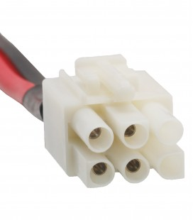 Power cable 6P, 3mts
