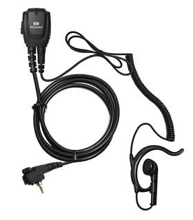 Micro-earphone coil cord + earhanger MOT. MTP-850