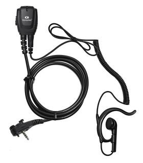 Micro-earphone coil cord + earhanger VX-246 / 351