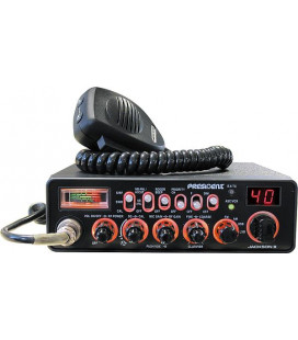 PRESIDENT Mobil CB radio 40 chanels  AM/FM/LSB/USB