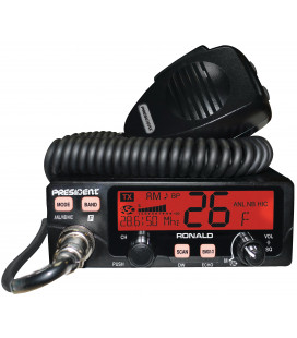 PRESIDENT  transceivers  CB  (10-12mts HAM-RADIO - AM/FM)