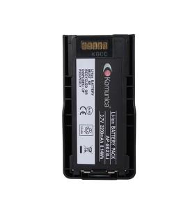 Compatible Komunica 7.4V, 2200mAh. Li-Ion, series TETRA: MTP3000/MTP6000