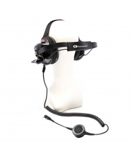 "Komunica Professional and Robust Headset  with Noise-Cancelling system + ""Quick disconnect"" connector"
