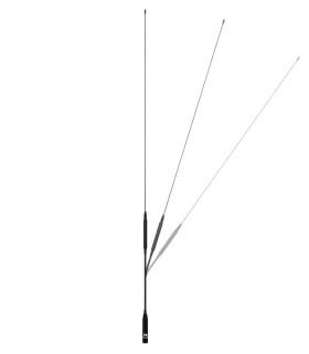 Antena para equipos portaties del 60cm VHF/UHF,  flexible, SMA