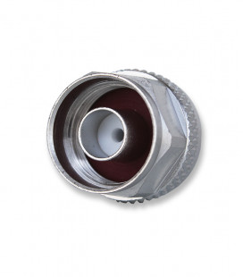 N male connector crimp type, compatible with cable  AIRCELL-7  and other versions with 7mm diameter