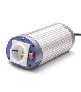 Inverter 150W, 24V/220V + USB connector