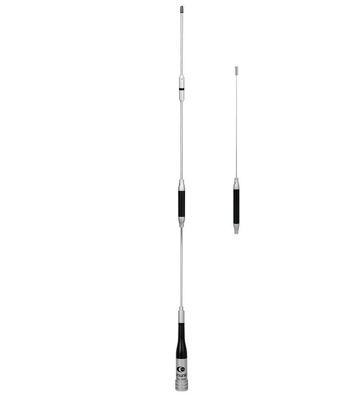 Movil antenna VHF-UHF, 150W, PL