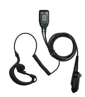 Micro-auricular Komunica con nivel protección IPX7, compatible con Icom ICF52/62