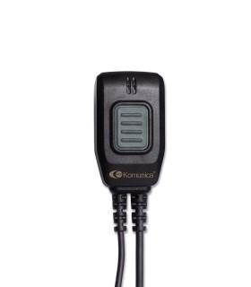 Micro-auricular Komunica con tubo acustico y protección  IPX7, compatible con Icom ICF52/62