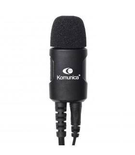 "Micro-Auricular con tubo  acustico Komunica ""Noise Cancelling"" Motorola PMR T62, T82, etc"