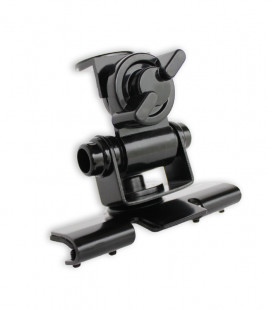 Komunica 3-axis swivel trunk support, black