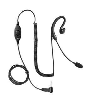 Micro-auricular tipo boom Komunica, Bidireccional NOISE CANCELLING. Compatible Motorola T82-T-62, etc (1Pin)