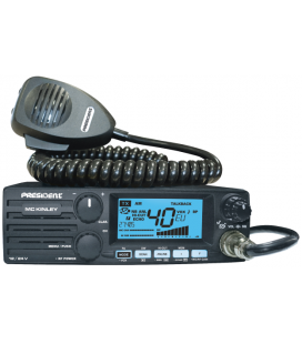 PRESIDENT CB radio 40 channels,  AM/FM/BLU ASC (12/24V), Code TXPR600