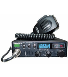 PRESIDENT CB radio AM/FM, ASC, 40 channels, 12/24V  (Ref.: TXPR403)