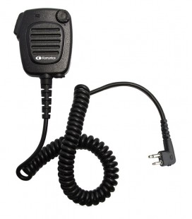 Speaker-microphone with volume contr. for MOTOROLA