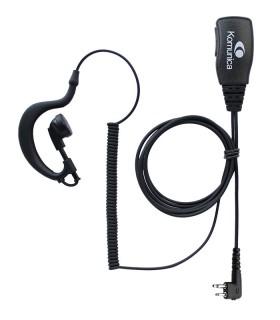 Micro-auricular básico Komunica, compatible con Motorola (2 Pin)