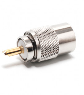 PL macho for RG-58 (GOLD PIN)