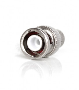 BNC male connector for RG-213, crimp type