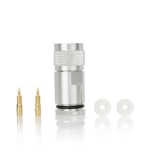 N male silver hight quality for RG -213/H-2000/AIRCOM-PLUS