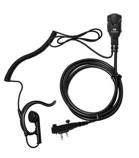 Micro-Auricular Komunica con orejera ergonómica X ICOM ICF1000/2000/29SR2