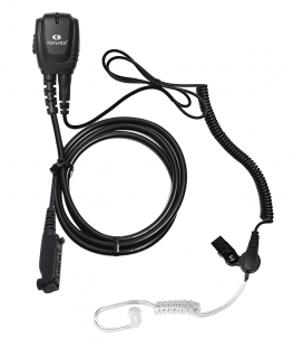 Micro-Auricular Komunica con tubo acustico para Sepura  STP-8000/9000/SC-2020, etc