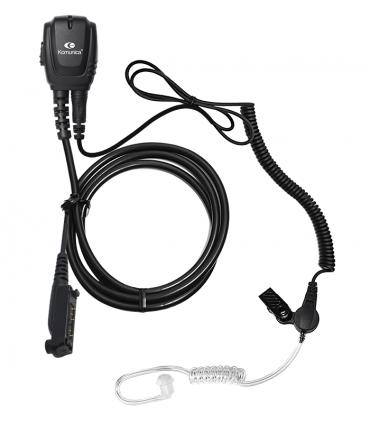 Micro-Earphone Komunica with acoustic tube for  Sepura  STP-8000/9000/SC-2020, etc