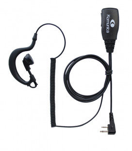 Komunica basic micro-earphone compatible with Icom (2 Pin)