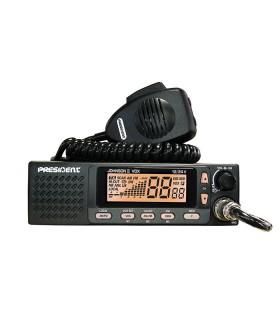 PRESIDENT Mobil CB radio 40 cx AM / FM ASC, VOX & 12/24V (Ref: TXPR667)