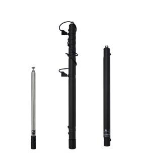 Komunica antena Ultra-Ligera Portable para HF con varilla Telescopica:  12 bandas