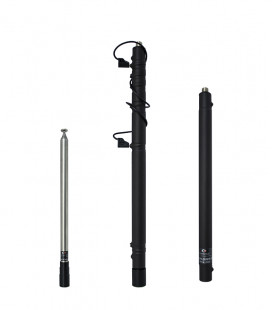 Komunica Portable Telescopic HF Antenna with 12 Bands.