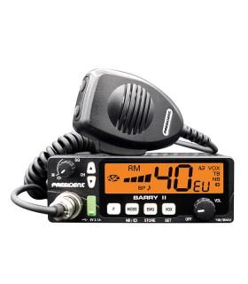 PRESIDENT Mobil CB radio AM/FM with VOX & 12/24 V