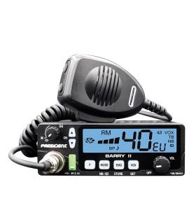 PRESIDENT Mobil CB radio AM/FM & 12/24 V