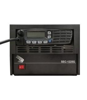 Rack Samlex compatible con series SEC, ideal equipos Icom IC-F5061/6061/5062/6062, etc