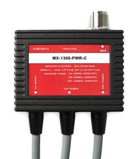 Komunica Triplexer:  1.6-160 (PL) / 350-550 (N) / 850-1300MH (N) + Cable