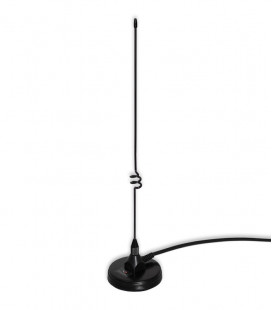 Komunica Mini Dual magnetic antenna VHF/UHF with PL-259 connector and base 7cm diameter.
