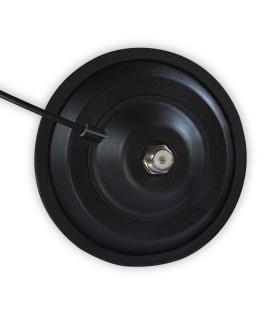 Base magnética  Komunica con diámetro 15 cm y conector PL-259
