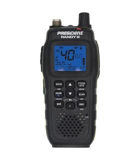Nuevo equipo portatil President, 40 canales AM/FM (TXPR600)