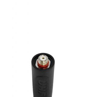 Komunica Antena Walkie UHF, 403-433MHz + GPS. Compatible con terminales  DP-2400/3400 (14cm)