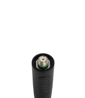 Komunica Antena Walkie UHF, 430-470MHz + GPS. Compatible con terminales  DP-2400/3400 (14cm)