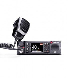 MIDLAND CB mobile radiot, AM / FM, 12/24, includes 3 types of brackets