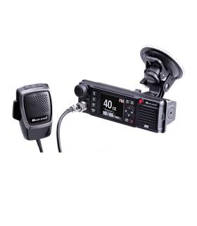 MIDLAND CB mobile radio, AM / FM, 12/24, includes 3 types of brackets