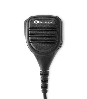 Micro-altavoz robusto para Sepura series STP-8000/9000 & SC-20 con botón de Emergencia