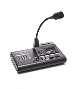 Desk microphone, compressor + meter for HF/VHF / UHF