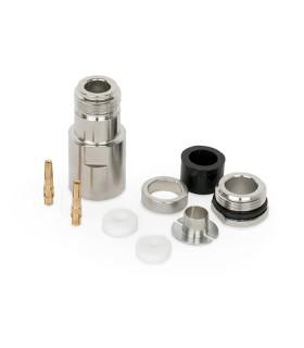 N Hembra RG-213/H-2000/AIRCOM-P/LMR400 (Pin Dorado)