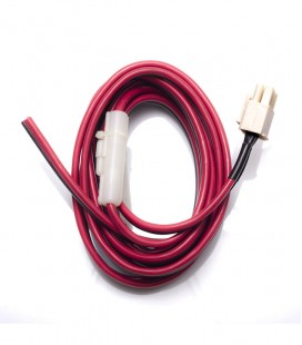 Power Cord Cable Polarized  with 6Pin connector and length, 3mts