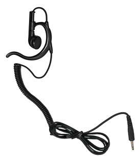Earphone with coil cord and plug 3,5mm